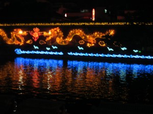 Confucius Temple illuminations