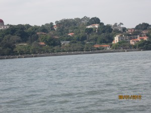 Gulangyu from the Ferry