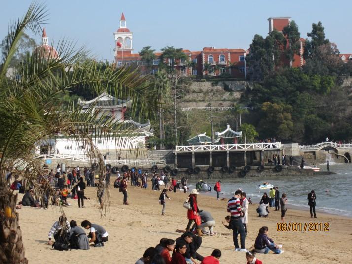 Beach at Gulangyu