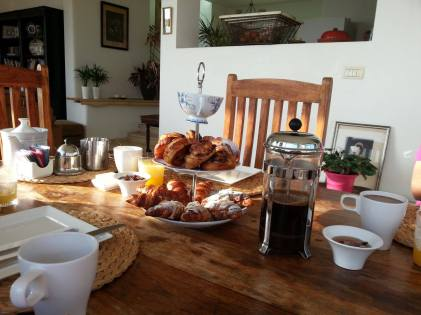 Breakfast in Yavne'el