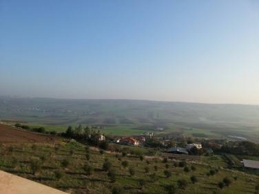 View from the balcony,Yavne'el