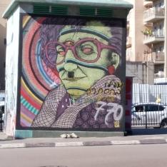 Grafitti in Tel Aviv