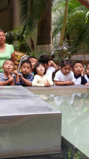 Kids at the MACAY