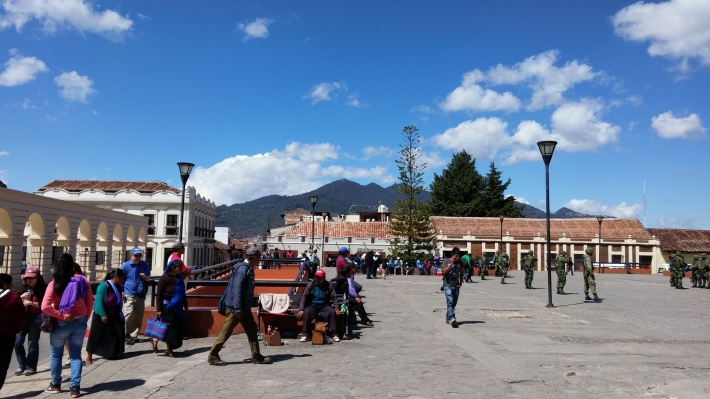 Main Square of San Cristobal