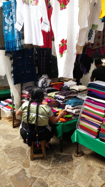 Textile market San Cristobal