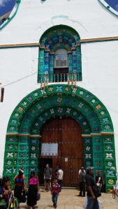 Exterior of San Juan Chamula Church