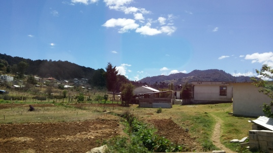 View on the way to San Juan Chamula