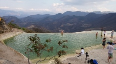 Pools at Hierve el Agua