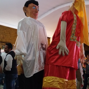 Puppets for wedding ceremony
