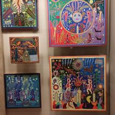 Artwork from different regions of Mexico