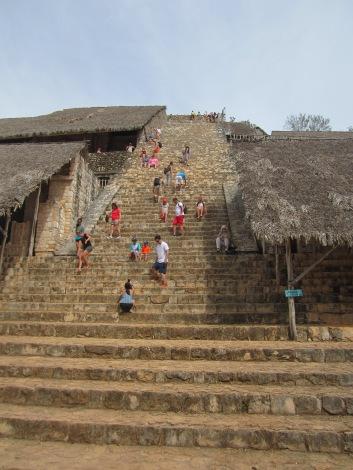 The acropolis of Ek Balam