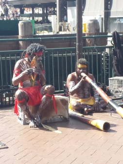 Aboriginal music in Sydney Harbour