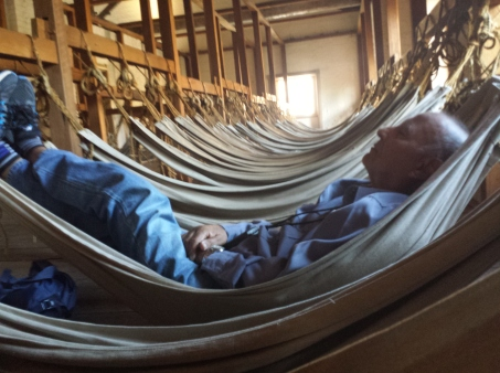 Hammocks in Hyde Park Barracks Museum