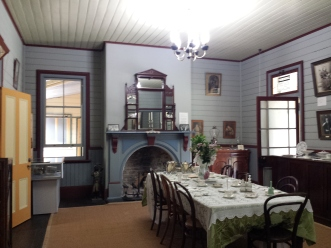 interior of Roto House