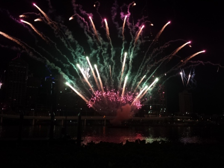 Riverfire Firework display