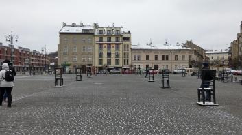 Ghetto Martyrs Square Memorial