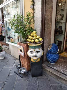 Typical Sicilian ceramics