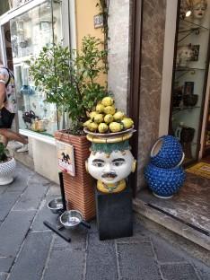 Typical Sicilian ceramics