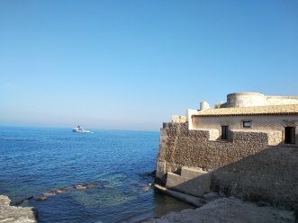 View from the surrounding wall Ortigia Island