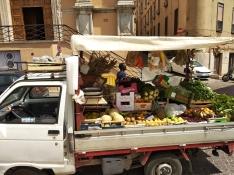 Veg stall in Agrigento town