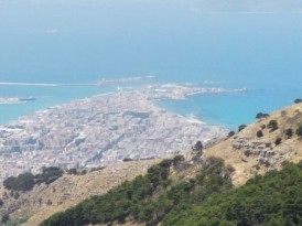 View of Trapani from Erice