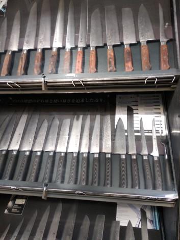 Knives in Kappabashi