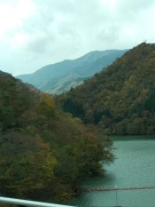 View on the way to Shirakawa go