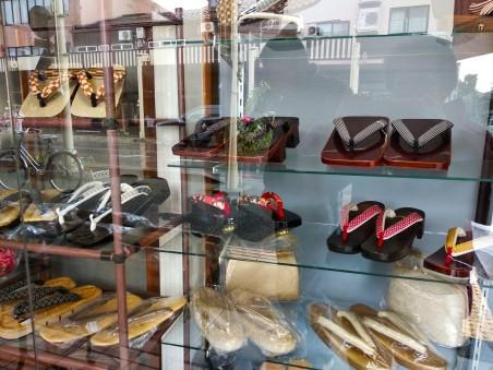 Shoe shop in Takayama