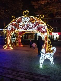 Peace boulevard illuminations