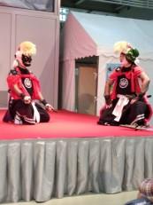 Samurai display