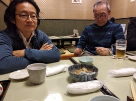 Dinner at Izakaya with Aki Endo and Mayumi